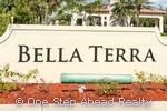 sign for Bella Terra
