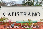 sign for Capistrano at Monterra