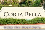 sign for Corta Bella